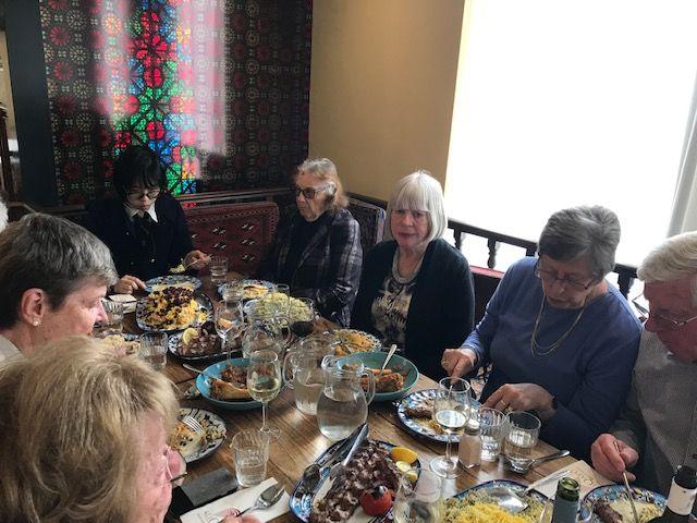 Persian Dinner 20 Oct 2019